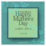 15 - Mothers Day Facebook Banner - photoshop action