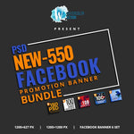 550 Facebook Banner Bundle 2 7.00 watercolor action
