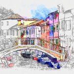 Urban Sketcher Photoshop Action - watercoloraction
