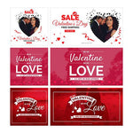 Valentine day Facebook Ad Banners-01 - photoshop action