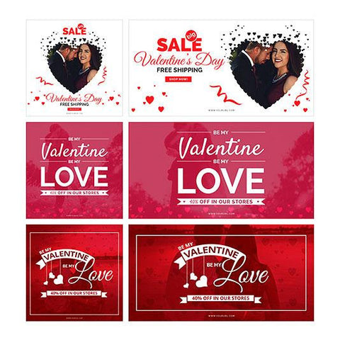 Valentine day Facebook Ad Banners-01 4.00 watercolor action