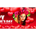 Valentines Day Facebook Cover Banner - watercoloraction