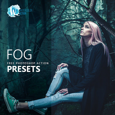 Free Photoshop Action Foggy