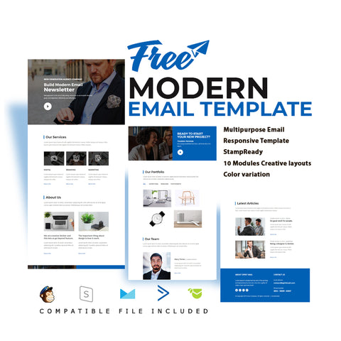 Free Modern Email Template