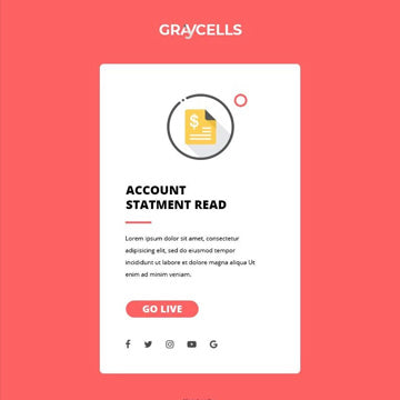 graycells - 750+ responsive email notification templates