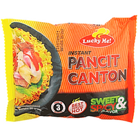 Lucky Me Pancit Canton Sweet & Spicy (instant Fried Noodle) 60g - Asian Online Superstore UK