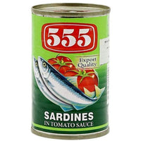 555 Sardines Tomato Sauce 155g - Asian Online Superstore UK