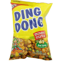 Ding Dong Mixed Nuts Real Garlic 100g - Asian Online Superstore UK