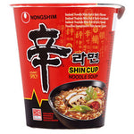 Nongshim Shin Cup Noodle Spicy 68g - Asian Online Superstore UK