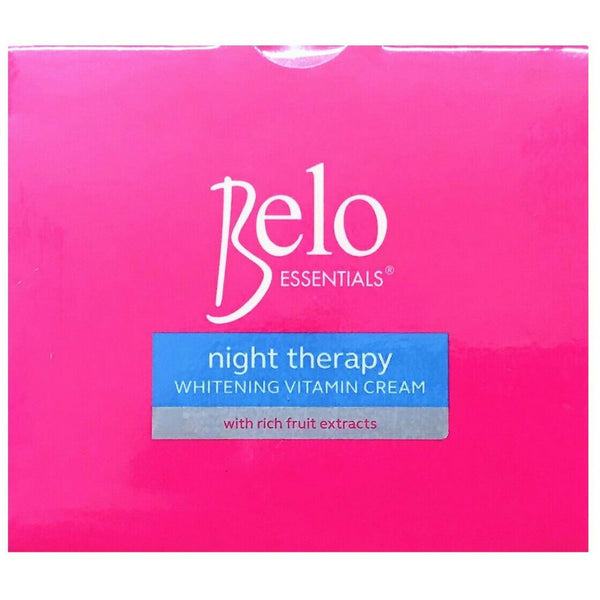 Belo Essentials Night Therapy Lightening Cream 50g - Asian Online Superstore UK