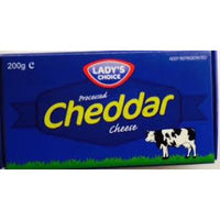 Lady's Choice Cheddar cheese 200g - Asian Online Superstore UK