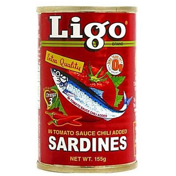 Ligo Sardines in Chili Tomato 155g - Asian Online Superstore UK