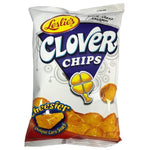 Leslies Clover Chips Cheesier (Cheese) 85g - Asian Online Superstore UK