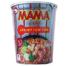 Mama Cup Noodle Shrimp Tom Yum 70g - Asian Online Superstore UK