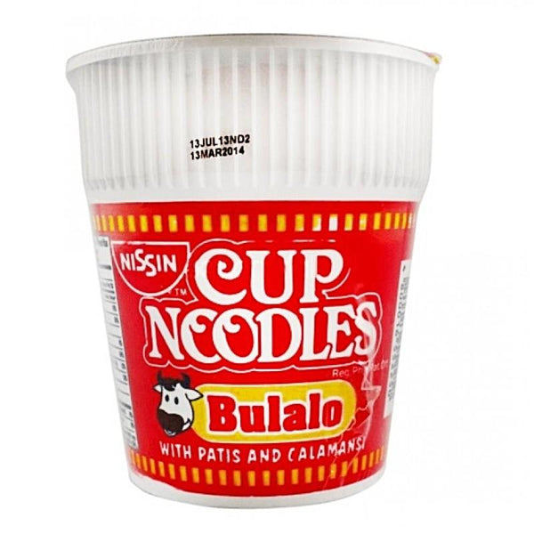 Nissin Bulalo Cup Noodle 60g - Asian Online Superstore UK