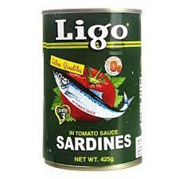 Ligo Sardines in Tomato Sauce 155g - Asian Online Superstore UK