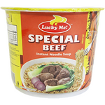 Lucky Me Cup Noodles Beef Flavour 70g - Asian Online Superstore UK