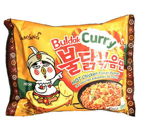 Samyang Buldak Curry Hot Chicken Ramen 140g - Asian Online Superstore UK