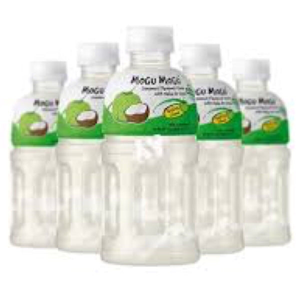 Mogu Mogu Nata De Coco Coconut Flavor 6x320ml - Asian Online Superstore UK
