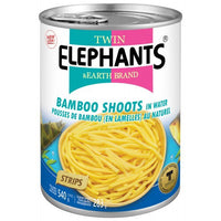 Twin Elephants Strips Bamboo Shoot In Water 540g - Asian Online Superstore UK