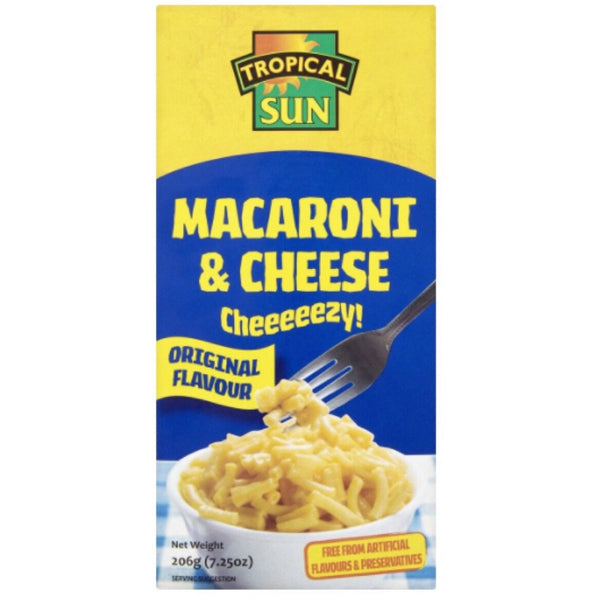 Tropical Sun Macaroni Cheese 206g - Asian Online Superstore UK