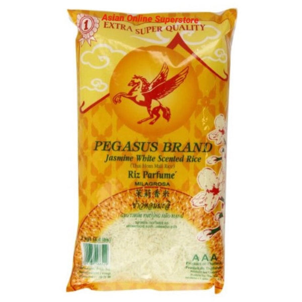 Pegasus Jasmin Fragrant Rice 2kg - Asian Online Superstore UK