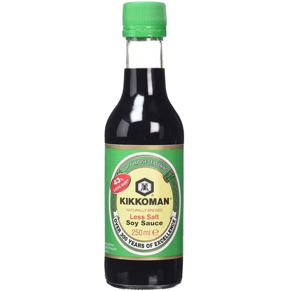 Kikkoman Less Salt Soy Sauce 250ml