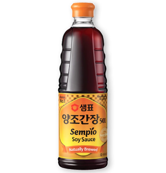 Sempio korean Naturally Brewed Soy Sauce 930ml - Asian Online Superstore UK