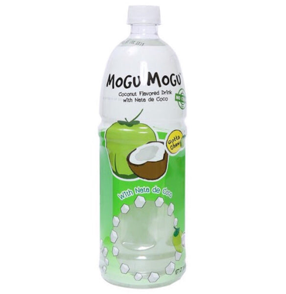 Mogu Mogu Nata De Coco Coconut Flavor 1L - Asian Online Superstore UK