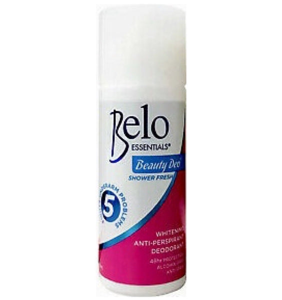 Belo Essentials Whitening Anti-Perspirant Deodorant Shower Fresh 40ml - Asian Online Superstore UK