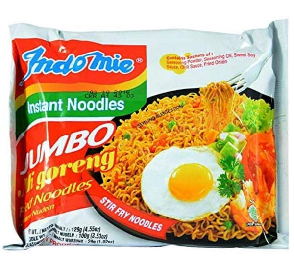 Indo Mie Jumbo Mi Goreng Fried Noodles 129g - Asian Online Superstore UK
