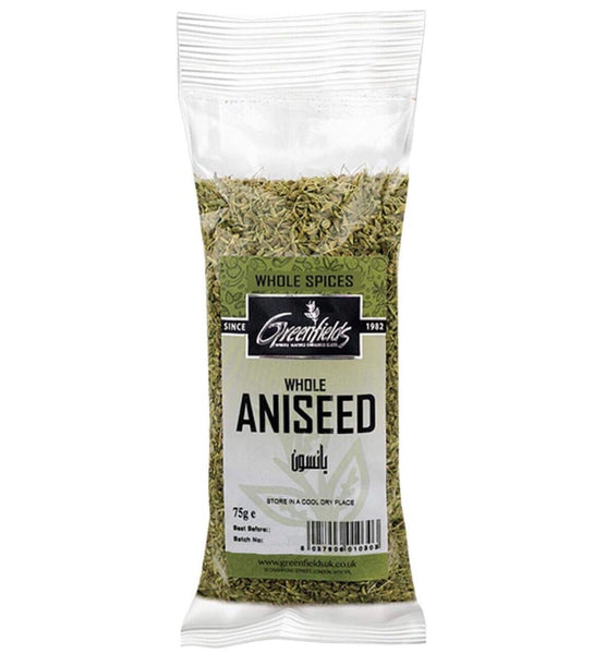 Greenfields Whole Aniseed 75g - Asian Online Superstore UK