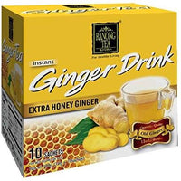 Ranong Tea Ginger Drink with Extra Honey (10x10g Sachets) 100g - Asian Online Superstore UK