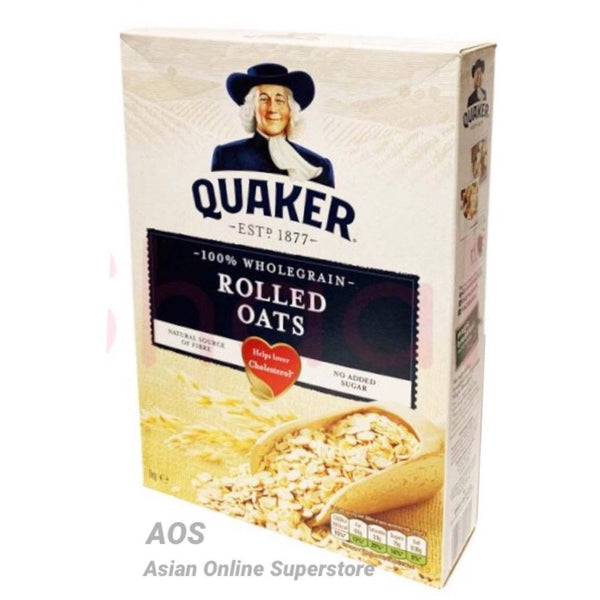 Quaker Whole Grain Rolled Oats 1kg - Asian Online Superstore UK