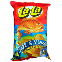 Lala Fish Cracker Salt & Vinegar 100g - Asian Online Superstore UK