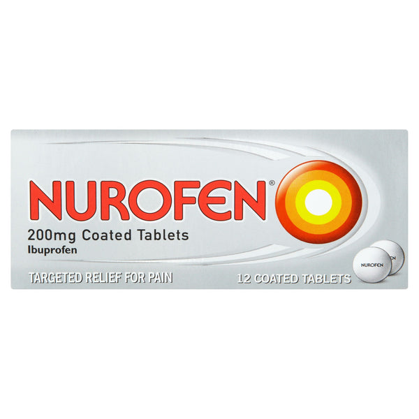 Nurofen Pain Relief 12 Caplets 200mg - Asian Online Superstore UK