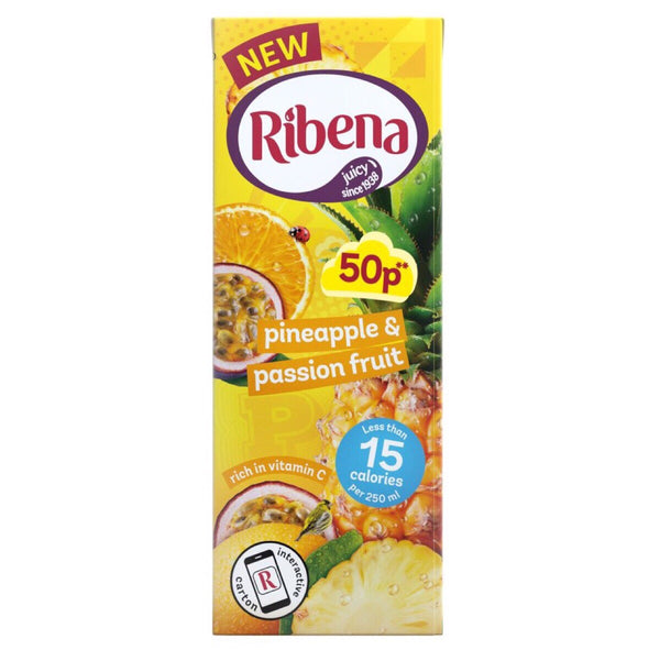 Ribena Pineapple & Passion Fruit 250ml - Asian Online Superstore UK