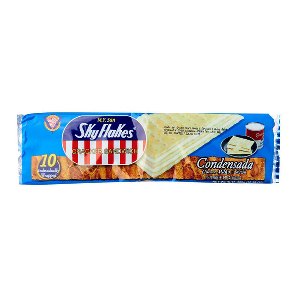 M.Y. San Sky Flakes Cracker Condensada (10x30g) 300g - Asian Online Superstore UK