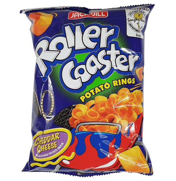 Jack 'n Jill Roller Coaster Snack Cheddar Cheese 85g - Asian Online Superstore UK