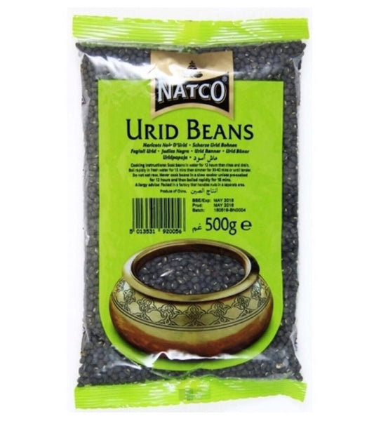 Natco Urid Beans 500g - Asian Online Superstore UK