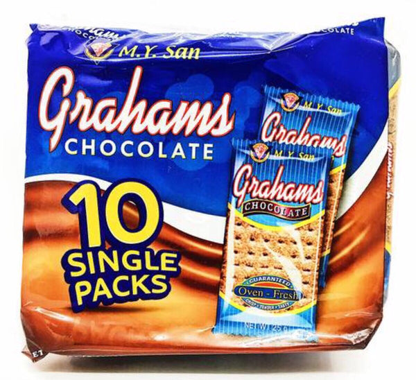 M.Y. San Graham Choco Crackers (10 packs) 250g - Asian Online Superstore UK