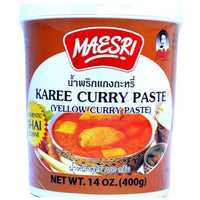 Mae Sri Yellow Curry Paste 400g - Asian Online Superstore UK