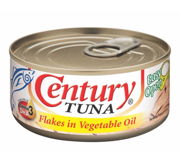 Century Tuna Flakes in Vegetable Oil 180g - Asian Online Superstore UK