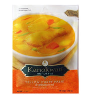 Kanokwan Yellow Curry Paste 50g - Asian Online Superstore UK