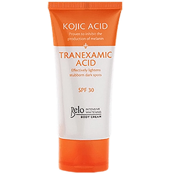 Belo Essential Kojic Acid & Tranexamic Acid Intense Whitening Body Lotion 150ml - Asian Online Superstore UK