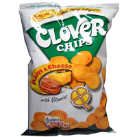 Leslie's Clover Chips Ham & Cheese 85g - Asian Online Superstore UK