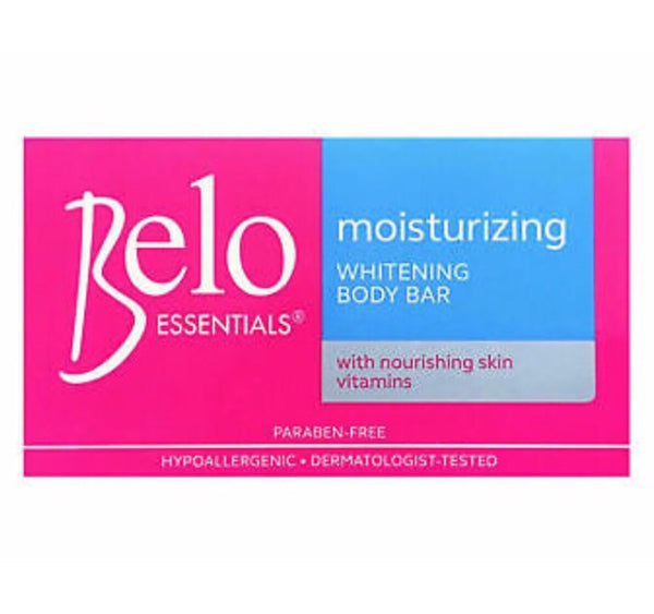 Belo Essentials Moisturising Lightening Body Bar 135g - Asian Online Superstore UK