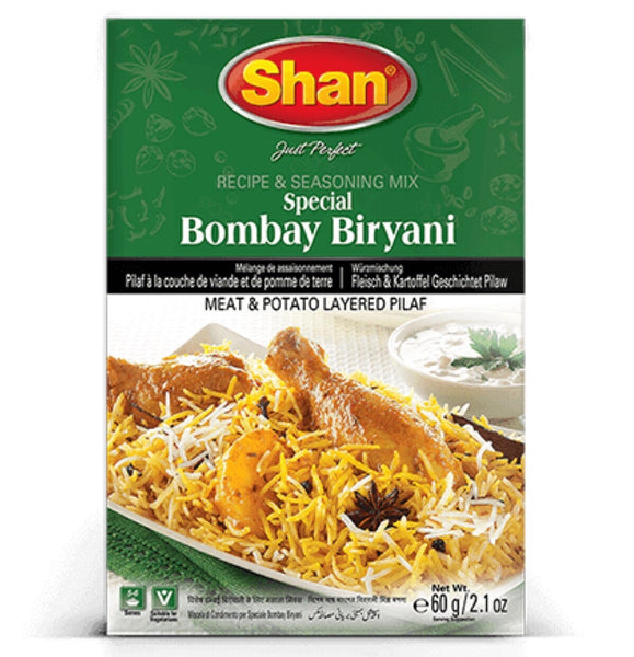 Shan Special Bombay Biryani (Biya) 60g - Asian Online Superstore UK