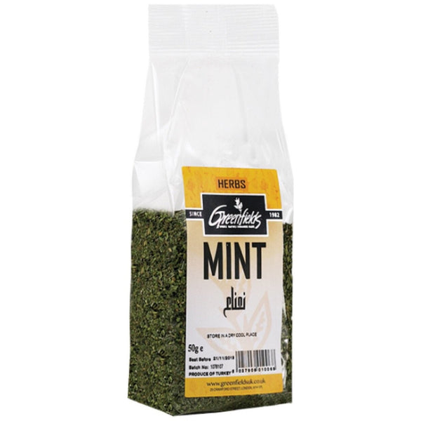 Greenfields Mint Herbs 50g - Asian Online Superstore UK
