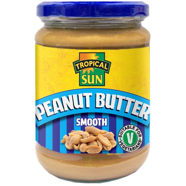 Tropical Sun Smooth Peanut Butter 340g - Asian Online Superstore UK